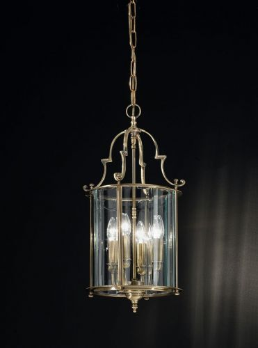 Franklite LA7010/4 Bronze Pendant Light